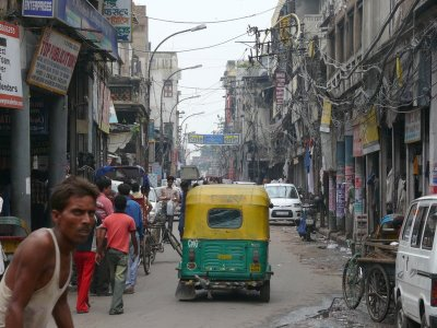 Typical Old Delhi Street