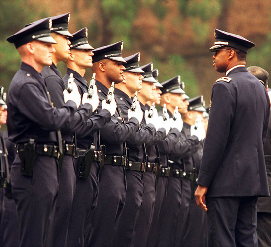 LAPD graduating class