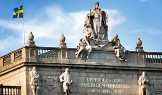 The-Swedish-parliament-Riksdagen