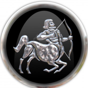 3660100-button-with-the-zodiacal-sign-sagittarius